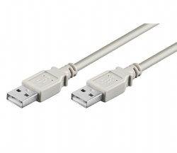 USB 2.0 A to A cable - 2 Metres